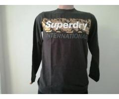 Original Mens Superdry Long Sleeve Shirt