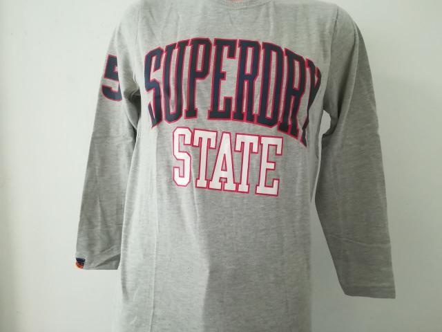 Original Mens Superdry Long Sleeve Shirt - 3/4