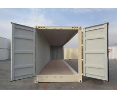 40ft High Cube New Build Open Side container