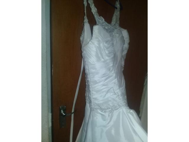 Aline wedding dress for sale - 4/4