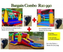 Bouncing Castles Bargain Special Combo