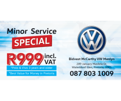 VW Polo and Polo Vivo Minor Service