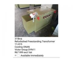 Refurbished Transformers and Mini Substations