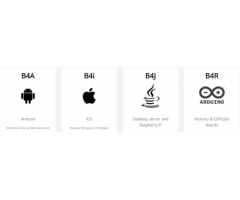 B4X Rapid application development tools for native Android, iOS, IoT and more