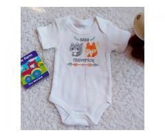 Custom Designed and Printed Baby Vests
