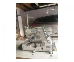 Industrial sewing machines and gravity irons Installations, repairs, service and spares