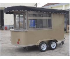 Fully Equipped Mobile kitchen Food Trailers