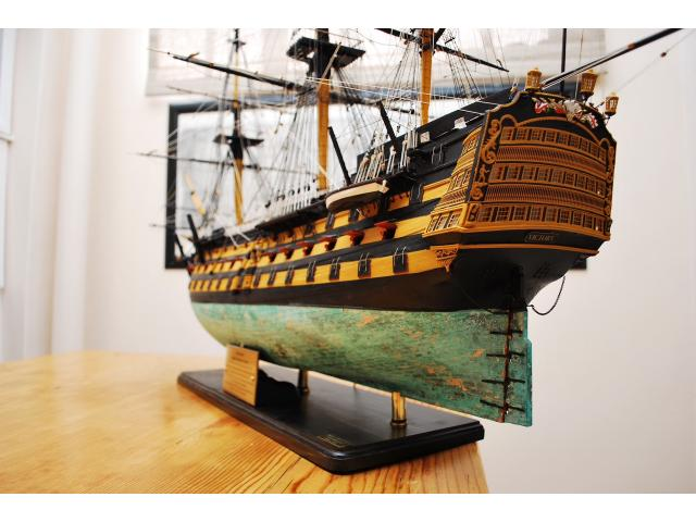Model Ship Repairs - 1/4
