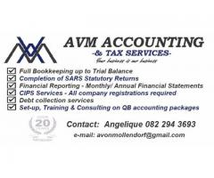 Accounting, Bookkeeping, Tax and QuickBooks consultant