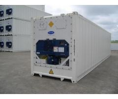 Containers and Refrigerated containers and Office 3m (10ft) and 6m (20ft) and 12m (40ft)