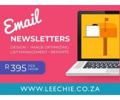 Electronic Newsletter/Mailer Creation
