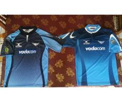 Two bulls rugby jerseys
