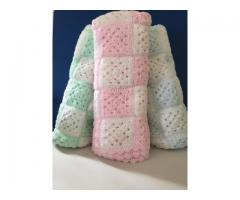 Crocheted Baby Blankets, Home Made
