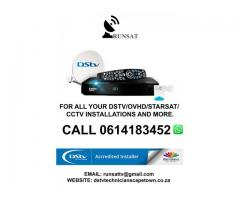 Authorised DStv Installers Cape Town and surrounding areas