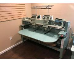 Tajima Single and double Head Commercial Industrial Embroidery Machine