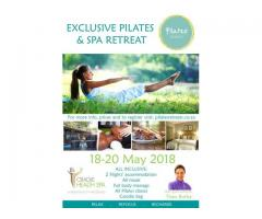 Pilates Retreat 18-20 May 2018