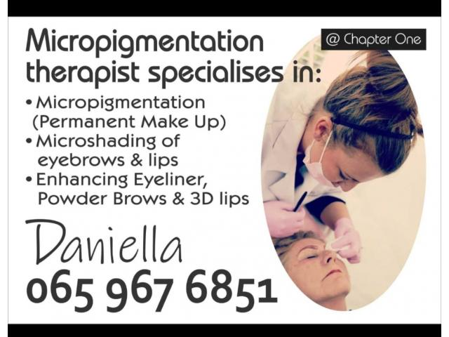 Permanent Make-up by SC Qualified Therapist - 3/4