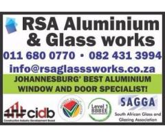 RSA Aluminium and Glass