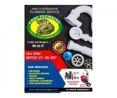 Croc Plumbing - For all your plumbing needs