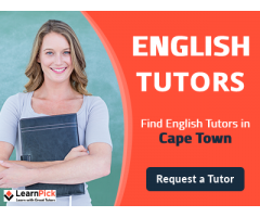 English Tutors in Cape Town