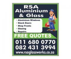RSA Aluminium and Glass