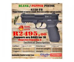 Blank/Pepper Pistol