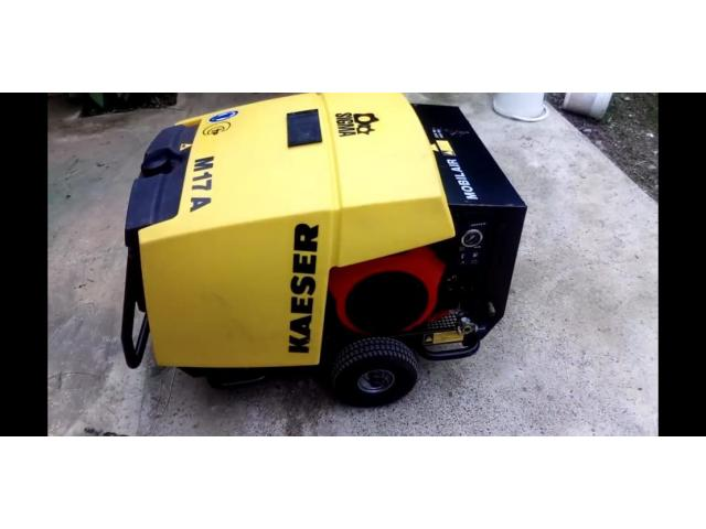 NEW Kaeser M17 Towable Portable Air Compressor - 1/3