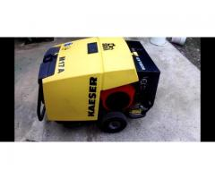 NEW Kaeser M17 Towable Portable Air Compressor