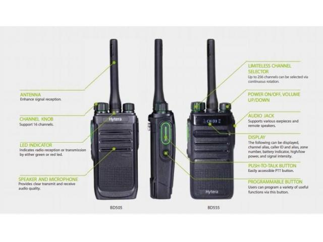 Hytera BD505 Two Way Radio - 1/1