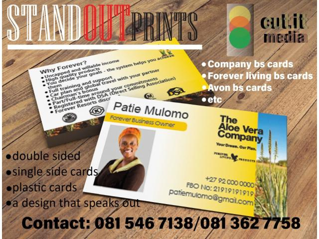 Graphics designer for all your business cards, logos, flyers etc - 1/1