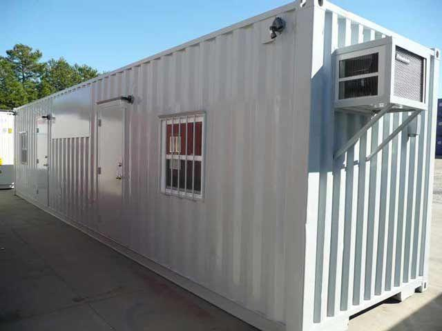 "12"" METER (40 FOOT) OFFICE CONTAINERS - 1/2"