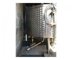 Stainless Steel electric heating mixing tank 300 L
