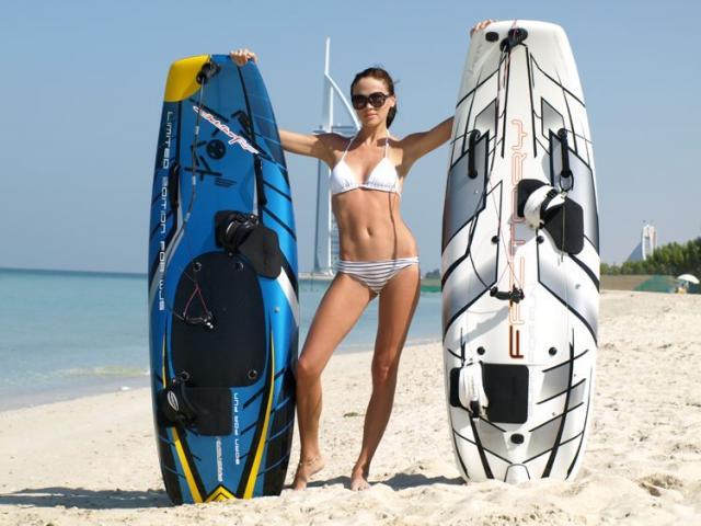 jetski powered surfboard - 1/4