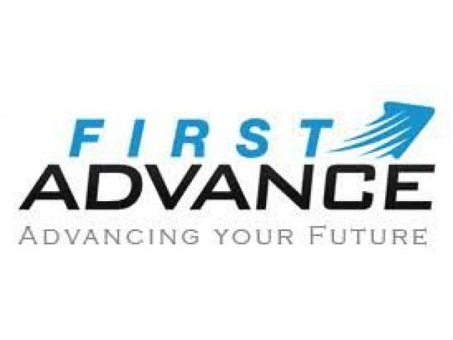 First Advance Is Hiring Part Time / Full Time - 1/2