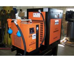 Air-Max 50hp. (NEW) Industrial Rotary Screw Compressor W/dryer/filters/240 tank