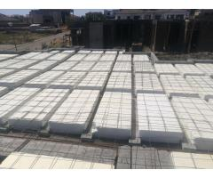 Rib and Block Concrete and Polystyrene Slabs