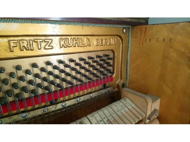 100 Year old piano FOR SALE - Kuhla, Fritz Model P (Upright piano) - 3/4