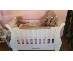 Sleigh Cot for Sale Duw 01