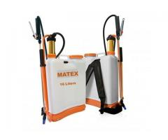 Matex-16L BACKPACK SPRAYER PART No. MTSBU-16L