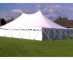 Tent, chairs and gas stove for hire