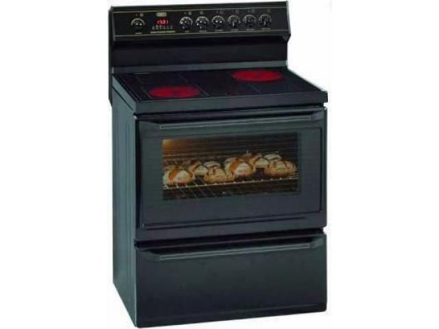 Defy electric stove with oven model DSS 430 - 1/2