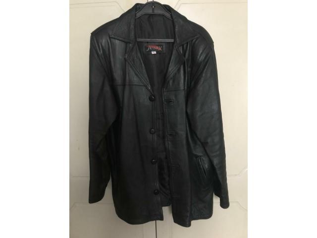 Original black leather jacket - 1/1