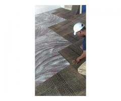 Uplifted Office Carpet tiles or Mates supply and fit