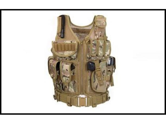 SEF780 Tactical Vest - 1/1