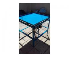 vibrating tables and blockyard equip