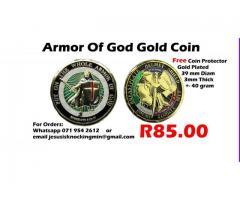 Coin Medallion Armor of God Eph 6:13-17