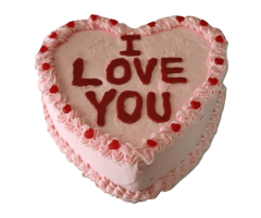I LOVE CAKE FOR VALENTINES DAY SPECIAL