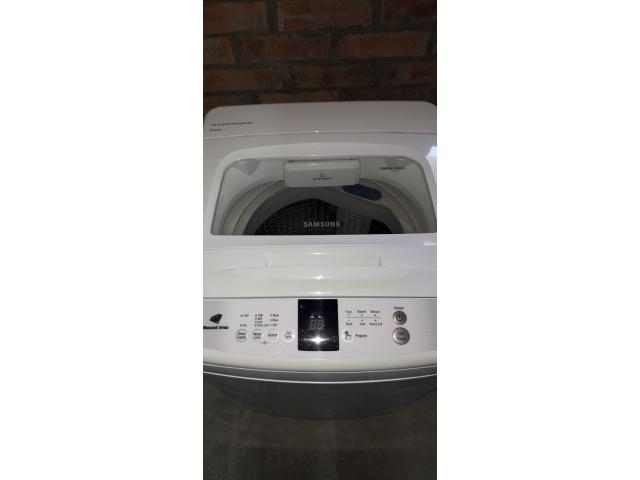 Samsung 9kg fuzzy logic diamond drum top loader washing machine - 3/4