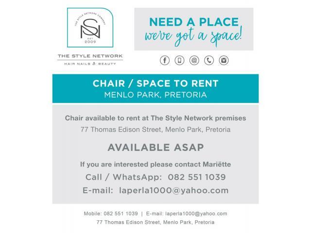 Rent a chair - 1/1