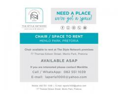 Rent a chair
